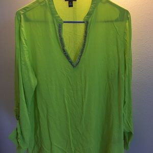 Lightweight blouse, beach shirt